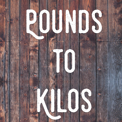 pounds to kilos